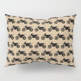 Dirt Bikes // Tan Pillow Sham