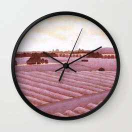 Wine Country In Wine Wall Clock