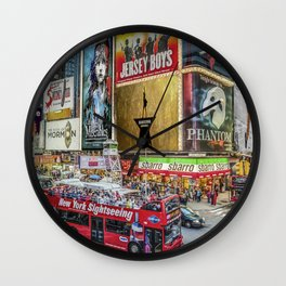 Times Square II Special Edition I Wall Clock