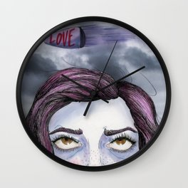 Dodged a Bullet Wall Clock