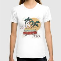 surfing T-shirts featuring Surfing by Julia