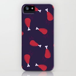 Hot chicken wings iPhone Case