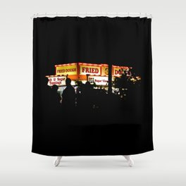 Fried Dough Shower Curtain