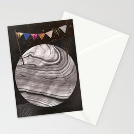 Moon Party Stationery Cards