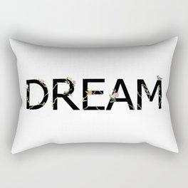 DREAM in bloom Rectangular Pillow
