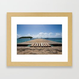 Vieques Framed Art Print