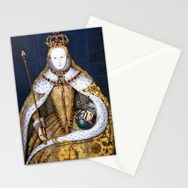 Queen Elizabeth I of England in Her Coronation Robe Stationery Cards