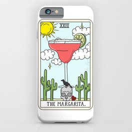 MARGARITA READING iPhone Case