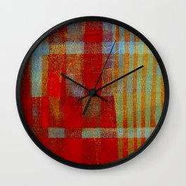 """""""Passions"""" Inspired by the Maria Bethânia music. Wall Clock"""