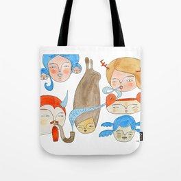 Secret Rendezvous Tote Bag