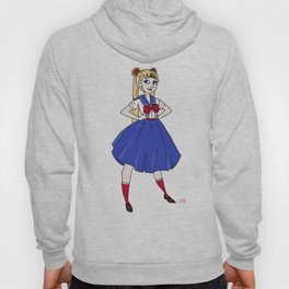 1950s Sailor Moon Hoody