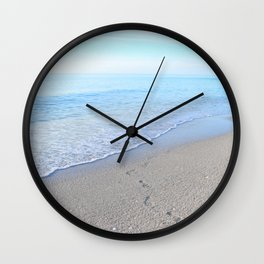 Stroll on the Beach Wall Clock