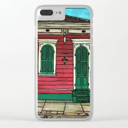 811 Governor Nicholls Clear iPhone Case