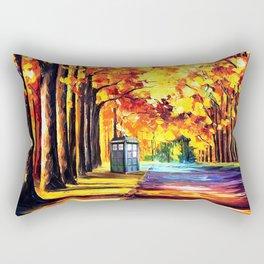 Tardis Stay Alone Rectangular Pillow