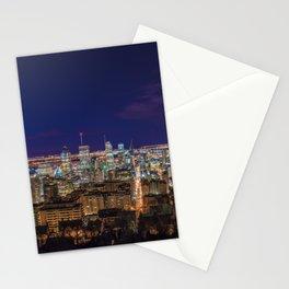 Montreal Nightlights Stationery Cards