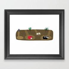 Burrow Full House Framed Art Print