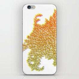 Monster Leaves iPhone Skin