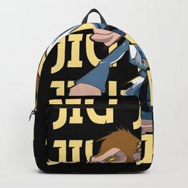Jiu-Jitsu Monkey Backpack