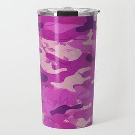 Flower Camouflage Travel Mug
