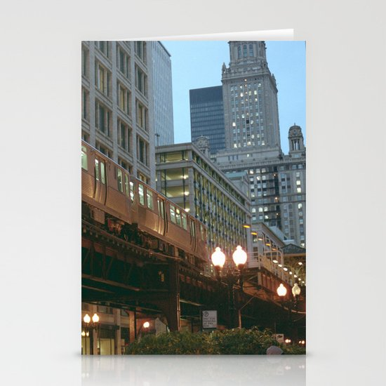 Streets of Chicago Stationery Cards