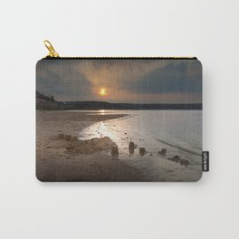 Sandcastles at sunset Carry-All Pouch