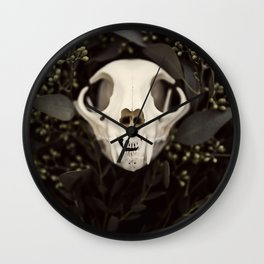 Skull and Bone Wall Clock