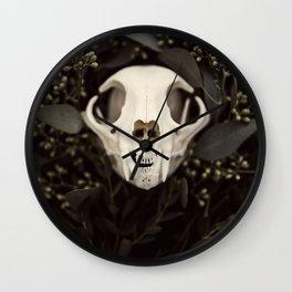 Skull and Bone Wall Clock
