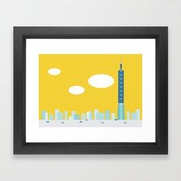 Taiwan Icon - II Framed Art Print