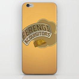 Ferengi Acquisitors iPhone Skin