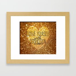 Compassion Framed Art Print