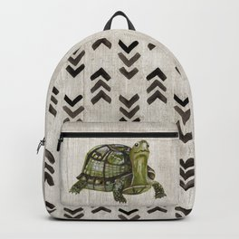 Little Turtle, Forest Animals, Woodland Decor, Woodland Art, Backpack