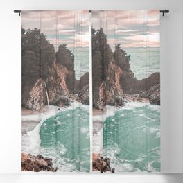 Big Sur California Blackout Curtain