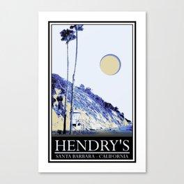 Hendry's Canvas Print
