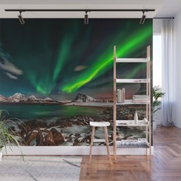 Aurora Borealis - Northern Lights - Twilight Wall Mural