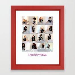 Fashion Victims Framed Art Print