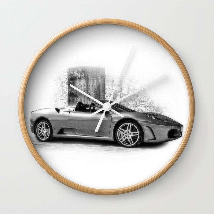 Ferrari F430 Wall Clock