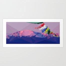 Vattenfront Art Print