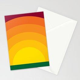 Bold Sunset Stationery Cards