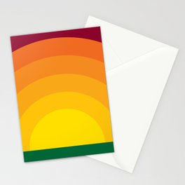Bold Sunset Stationery Cards