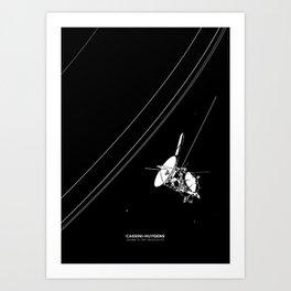 CASSINI-HUYGENS Art Print