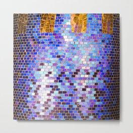 Louis Comfort Tiffany Column Metal Print