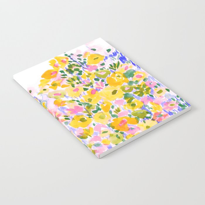 Flower Fields Sunshine Notebook