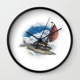Corsairs from Sirocco Wall Clock