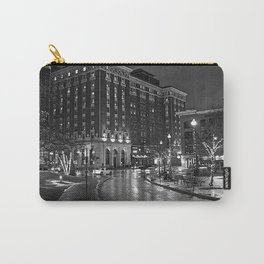 Amway at night BW Carry-All Pouch