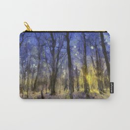 The Forest Van Gogh Carry-All Pouch
