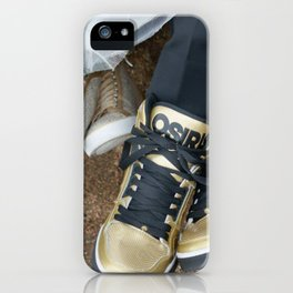 Hitched Kicks iPhone Case
