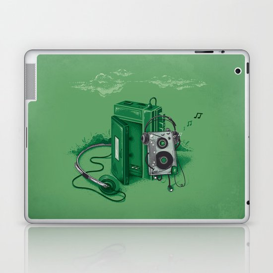 Music Break Laptop & iPad Skin