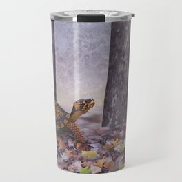 eastern box turtle in the forest Travel Mug