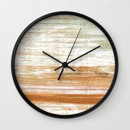 Vanilla watercolor Wall Clock