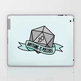Anything is Possible D20 Laptop & iPad Skin